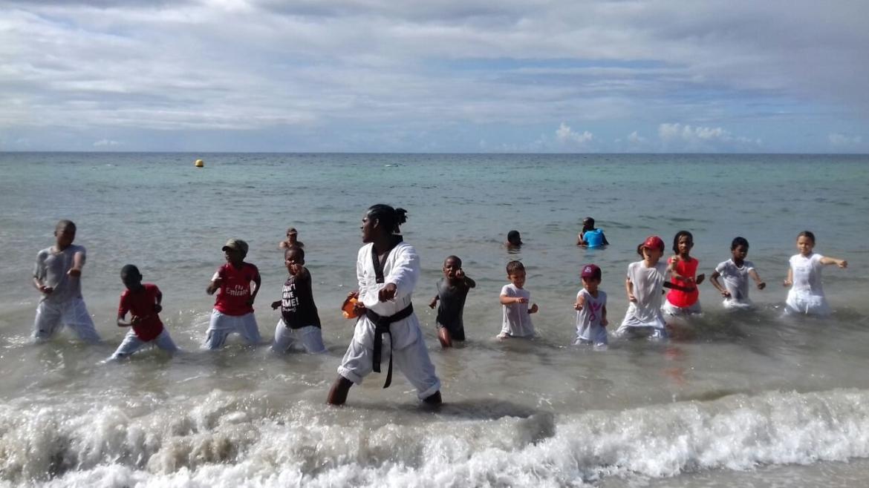 Stage sur la plage 2019